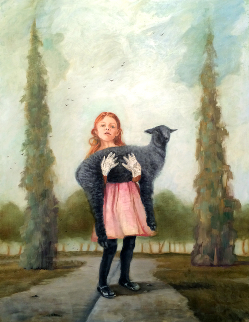 , 'Leaving Home and Taking Her Black Sheep with Her #2,' 2015, Sue Greenwood Fine Art