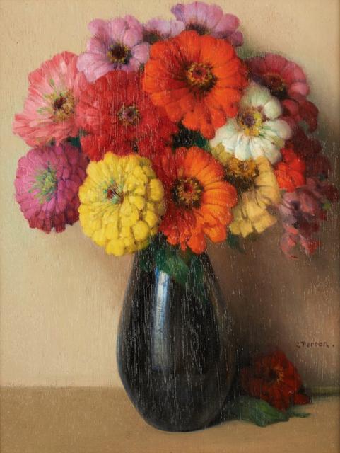 , 'Vase Fleuri,' , Gladwell & Patterson