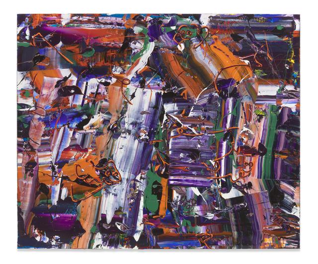 , 'Purple Machine,' 2019, Miles McEnery Gallery