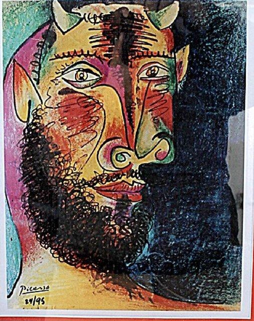 Pablo Picasso, 'Head of a Faun', ca. 1980, Print, Lithograph, Leviton Fine Art