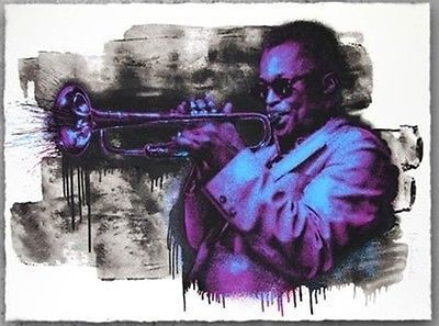 Mr. Brainwash, 'MILES DAVIS (PURPLE/BLUE)', 2015, Marcel Katz Art