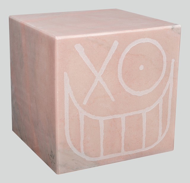 , 'Mr. A Pink Marble Cube 40 cm 2,' 2018, Underdogs Gallery