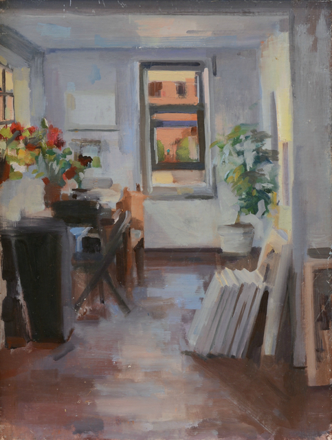 , 'Studio Window,' 2015, Abend Gallery