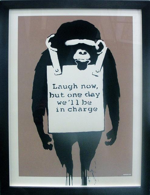 Banksy, 'Laugh Now', 2003, Print, Screenprint, Marcel Katz Art