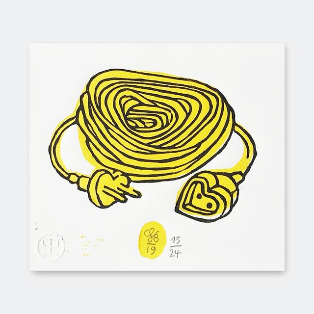 Soeren Behncke, 'Love Extension Yellow Version', 2019, V1 Gallery
