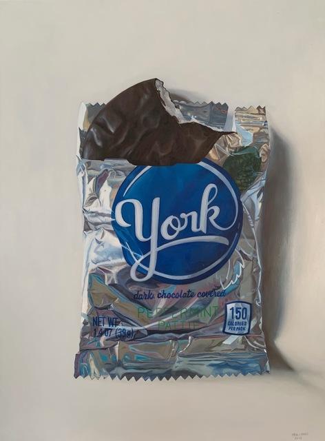 , 'Peppermint Pattie,' 2018, George Billis Gallery