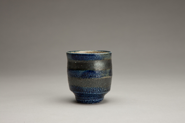 Shinsaku Hamada, 'Sake cup, salt glaze with hakeme decoration', Other, Stoneware, Pucker Gallery