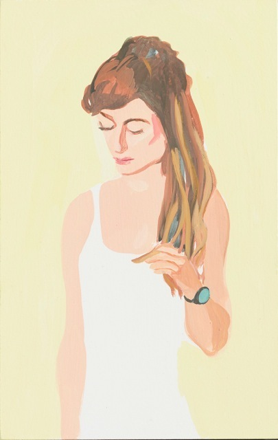 , 'Girl in White Dress,' 2013, Madison Gallery