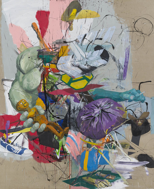 , 'A-Boy and collector,' 2017, carlier   gebauer