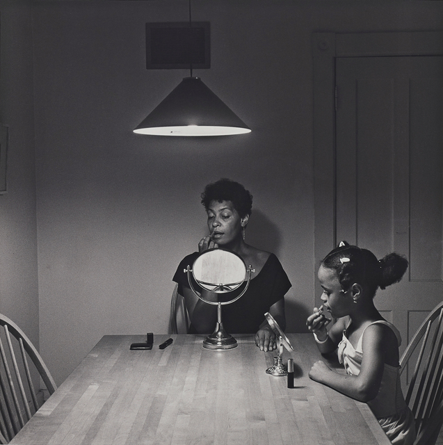 Carrie Mae Weems, 'Untitled (Woman and daughter with makeup) from Kitchen Table Series', 1990, Phillips