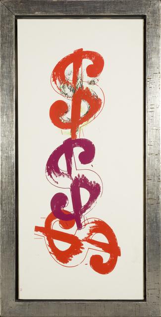 , '$ Triple ,' 1982, RUDOLF BUDJA GALLERY