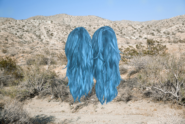 , 'Meet Me In The Middle (Wigs),' 2016, Chimento Contemporary