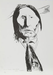 Leonard Baskin, 'Wolf-Robe-Cheyenne,' 1972, Heritage Auctions: Holiday Prints & Multiples Sale
