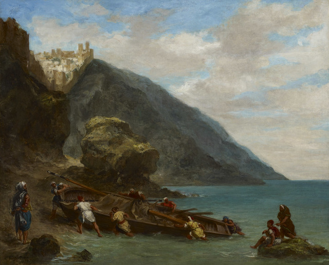 , 'Tangier from the Shore,' 1858, The National Gallery, London