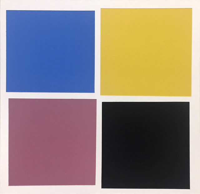 """Tom McGlynn, 'Study for """"Small Square Standard 1""""', 2018, Rick Wester Fine Art"""