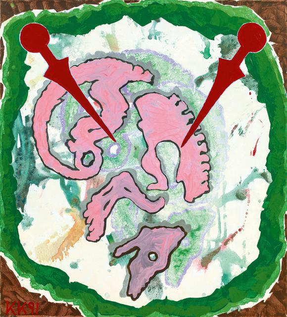 Kiki Kogelnik, 'Sleep', 1991, Galerie Kovacek & Zetter