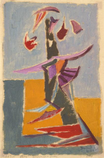 Werner Drewes, 'Lighthouse and Gulls', 1948, Debra Force Fine Art