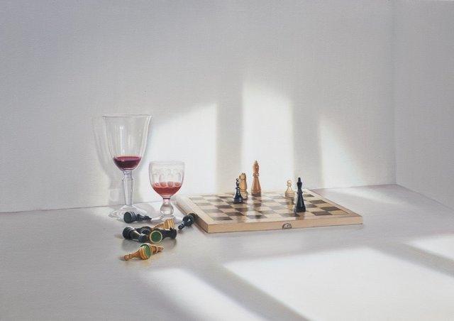 , 'Nach der Partie,' 2018, Galerie Barbara von Stechow