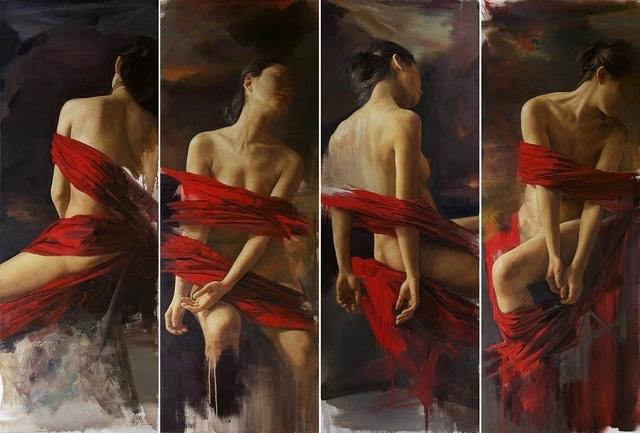 , 'Rotation I ,II,III,IV 旋轉I ,II,III,IV,' 2013-2014 , Galerie du Monde