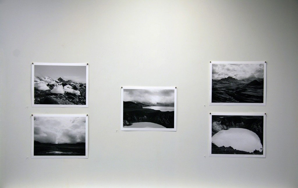 """""""I start with film and/or digital photographs that I combine and work on in Photoshop. My work is some kind of hybrid that combines my painting, drawing and photography backgrounds. I do extensive proofing before printing finished images—that I can make the print myself is an important part of my process."""" Dianne Kornberg, from a recent interview."""