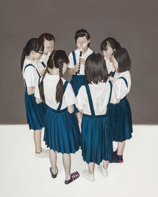 , 'All Playing Together I,' 2015, Aki Gallery
