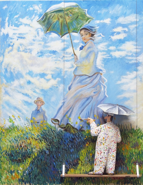 , 'Woman with a Parasol - Madame Monet and her Son: Monet,' , Zenith Gallery