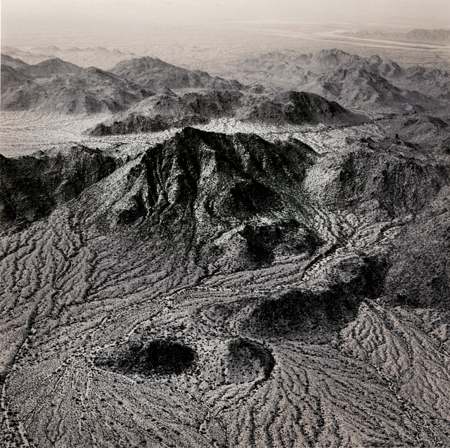, 'Natural Drainage Systems Near The Palo Verde Nuclear Power Station, Arizona,' 1988, Etherton Gallery