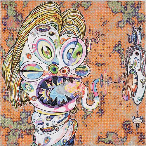 Takashi Murakami, 'Head of Isabel Rawthorne', 2016, artrepublic