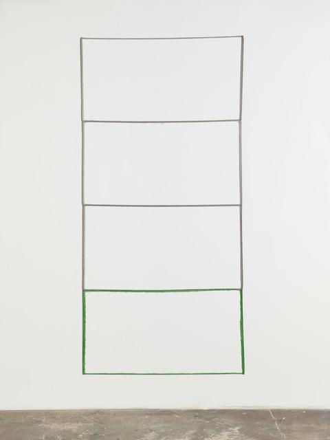, 'Negative (grey, green),' 2013, Maccarone