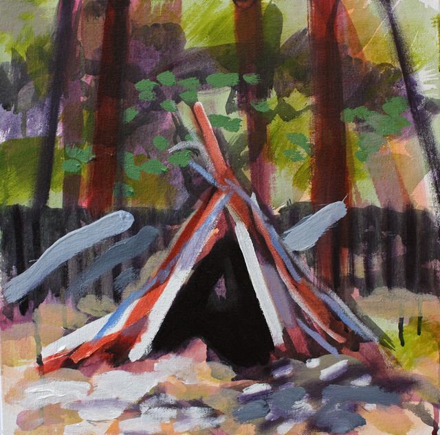 , 'Little Teepee (we're older now),' 2014, G. Gibson Gallery
