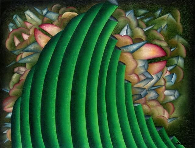 Antonio Henrique Amaral, 'HALF HIDDEN', 1992, Painting, Oil on Canvas, ArtSpace / Virginia Miller Galleries