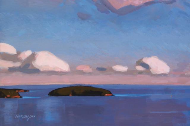 , 'Popham Island,' , Madrona Gallery