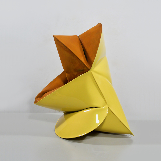 , 'Plymouth Yellow,' 2018, Galerie Richard