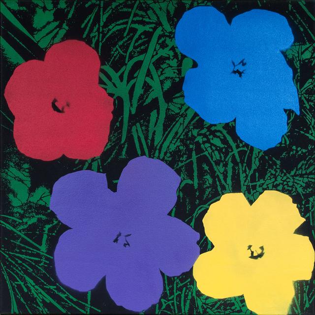 Logan Hicks, 'Poppies V - Homage to Warhol ', 2019, Taglialatella Galleries