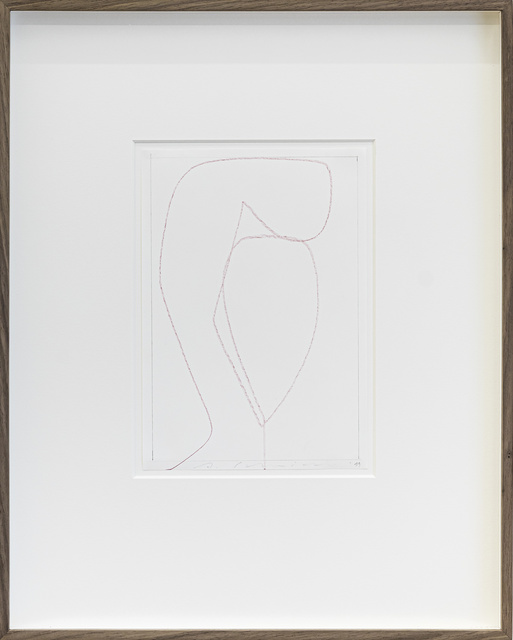 Albrecht Schnider, 'Untitled', 2019, Drawing, Collage or other Work on Paper, Colored pencil on paper, Mai 36 Galerie