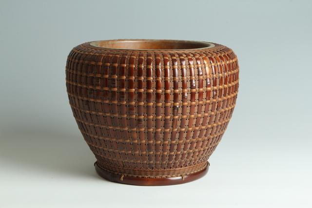 , 'Bamboo Hibachi (T-3913),' Showa era (1926, 1989) 1930s, 40s, Erik Thomsen
