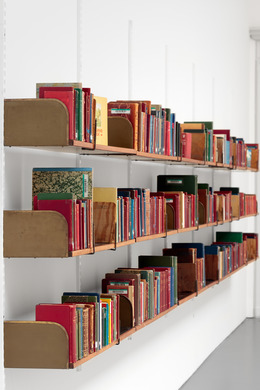 , 'The Library of Unborrowed Books, Section I: Stockholm Public Library (detail),' 2012, Biennale of Sydney