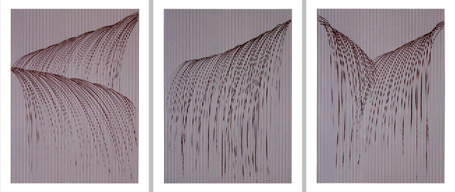 , 'Waterfall I, II, III,' 2008, Addison/Ripley Fine Art