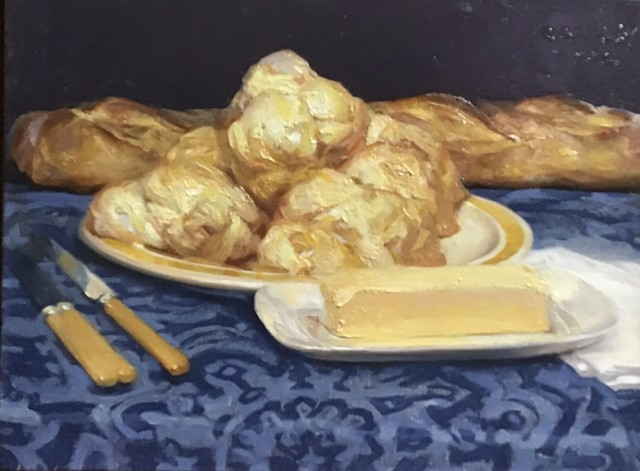 Paul Rahilly, 'Buttermilk Biscuits', 2002, Painting, Oil on canvas, Gallery NAGA