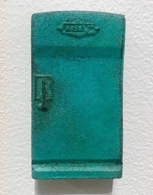 Elizabeth Folk, 'Refrigerator', 2019, Sculpture, Bronze with cupric nitrate and menstrual blood patina, LAUNCH LA
