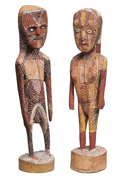 , 'Purukapali and Bima,' 1959, Tim Klingender Fine Art