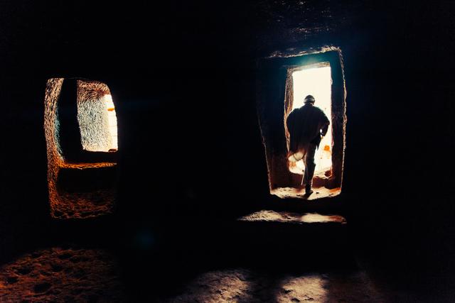 , 'Primordial Modernity: The Raw Spirit of Lalibela VI,' 2014, Addis Fine Art