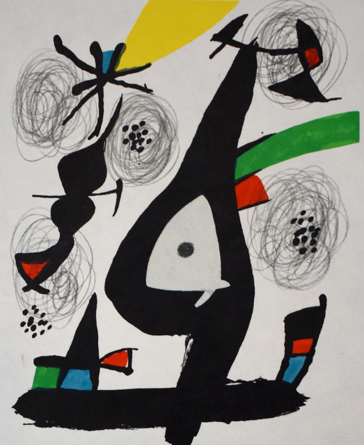 Joan Miró, 'Composition I, from: The Acid Melody | La Mélodie Acide', 1980, Gilden's Art Gallery
