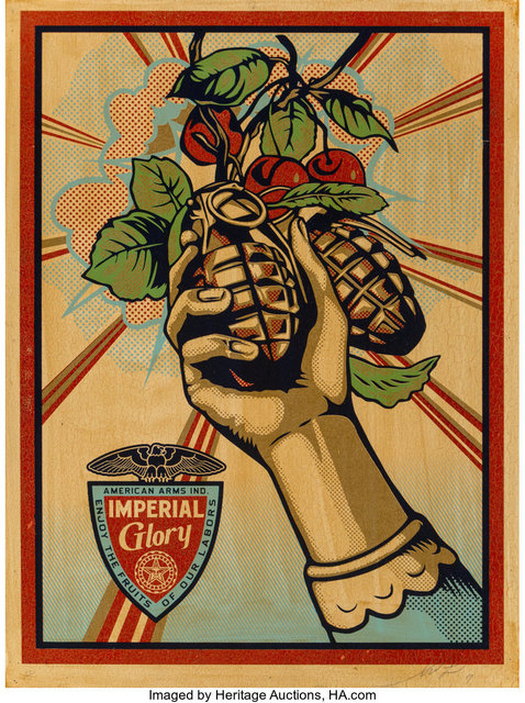 Shepard Fairey, 'Imperial Glory', 2011, Heritage Auctions
