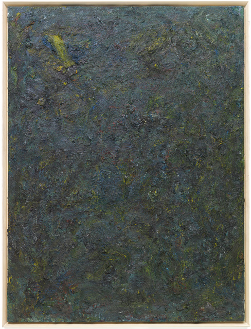Milton Resnick, 'Straws', 1982, Painting, Oil on canvas, The Milton Resnick and Pat Passlof Foundation