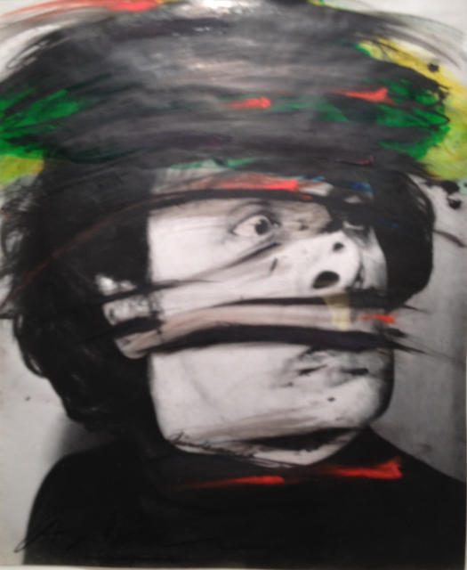 , 'Overpainted Self-Portrait,' 1969-1970, Lee Gallery