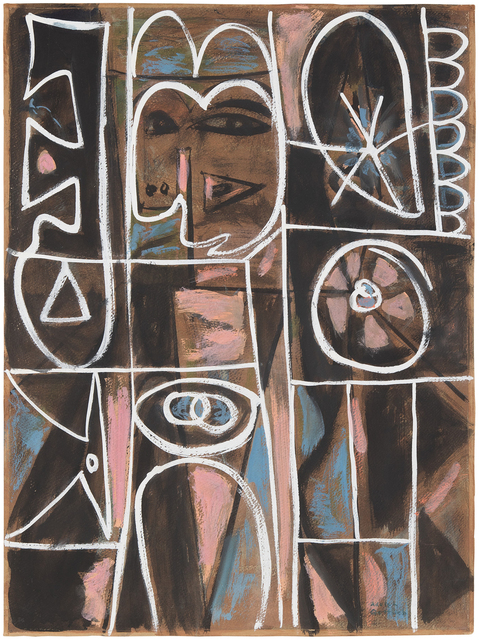 Adolph Gottlieb, 'Compartments of Memory', ca. 1949, Michael Rosenfeld Gallery