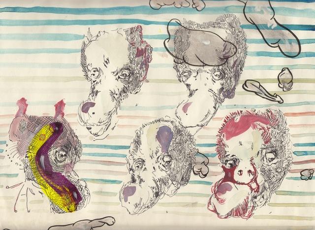 , 'Digestive System Resting,' 2015, Martin van Zomeren