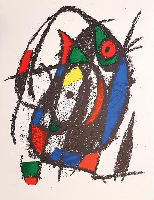 Joan Miró, 'Mirò Lithographe II - Plate IV', 1975, Wallector