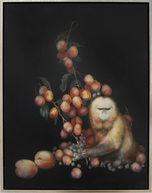 , 'Capuchin with Apricots,' 2018, Art Ventures Gallery